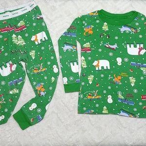 GAP long sleve pajama set 2T